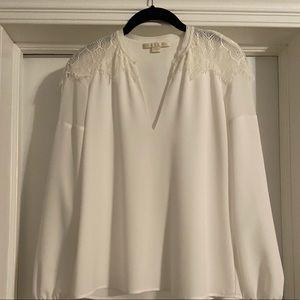 Beautiful white silk top